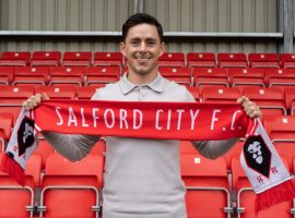 Henderson joins the Ammies on a two-year deal. Credit: Salford City