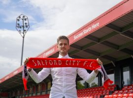 Hladky joins the Ammies on a two-year deal. Credit: Salford City