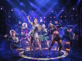 SIX, the hugely popular musical, is returning to the Lowry once again over Christmas. Image credit: the Lowry