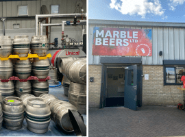 "Back In Business:  ""It was scary"" The Marble Beer Ltd's Taproom on serving the public again"