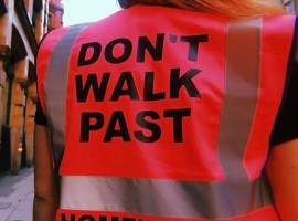 Don't Walk Past: Homeless Organisation in Salford/ Manchester Credit: Susannah Gill