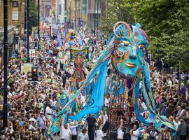 Photo by Mark Waugh / Walk the Plank - Manchester Day Parade