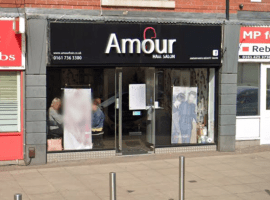 A beauty related business in  Salford. Taken from Google maps