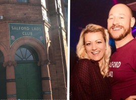 Smiths fans to be first to wed at Salford Lads' Club
