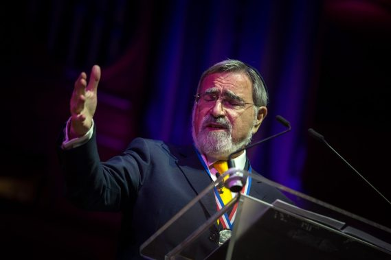 Former Chief Rabbi Lord Sacks Salford