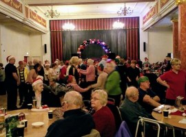 Dancing for Dementia event Christmas 2019