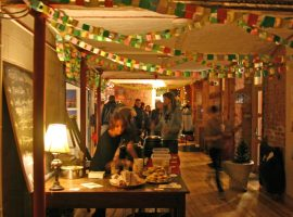 This annual 'Christmas at the Mill' is yet another Salford tradition having to adapt this year. (Image of the market take in a previous year) Image Credit: Jess Coulson at Islington Mill.
