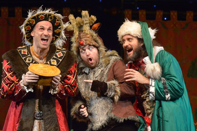 """""""They would have bitten your hand off to come back"""" – Horrible Histories Pantomime returns to Salford"""