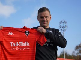 Newly appointed Salford FC manager, Richie Wellens. Image credit: Salford City.