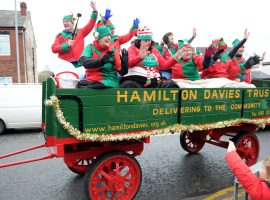 """We are hoping this will cheer people up"" – Elf Parade taking place tomorrow in Salford with the Hamilton Davies Trust"