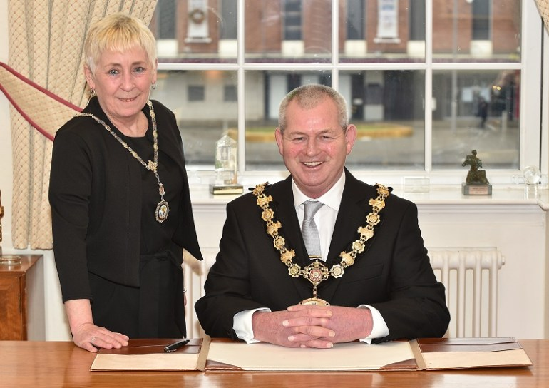 New ceremonial mayor