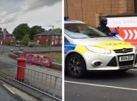 Worsley road crash