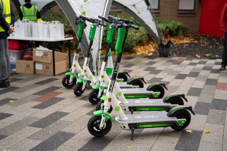 Salford e-scooters