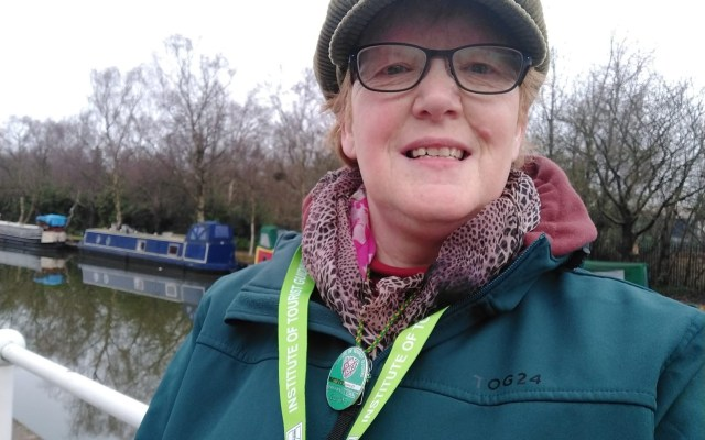 Elizabeth Charnley first qualified as a Green Badge Tourist Guide in April 2019. Image Credit: Elizabeth Charnley.