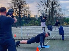"""People are now really ready to get back outside and start moving again"" – U-First Fitness Society restarts outdoor training sessions"