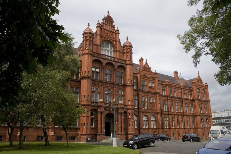 Salford University, one of the universities involved in the Greater Manchester Civic University Agreement
