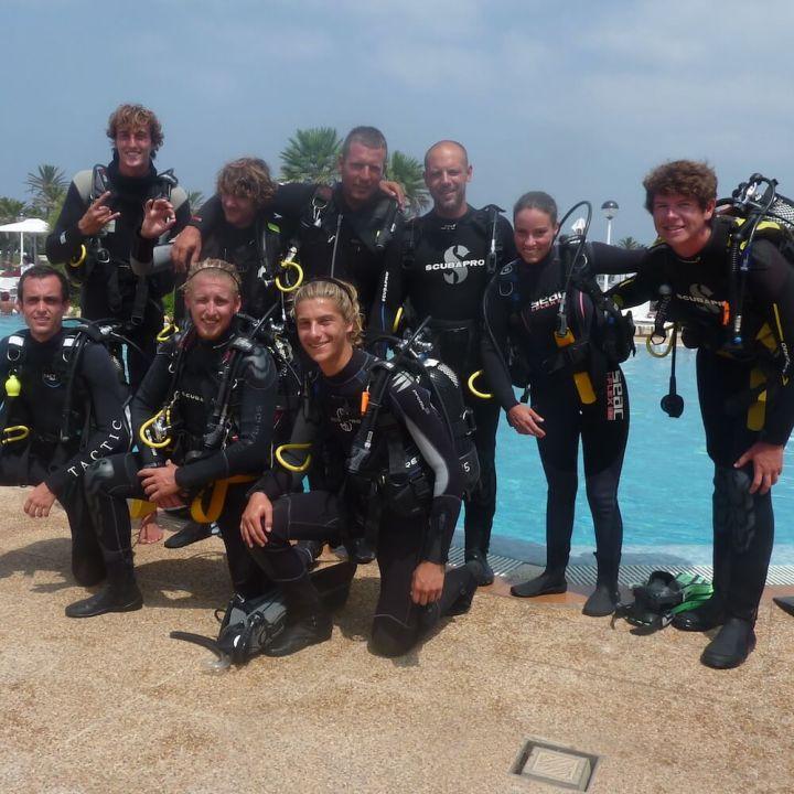 PADI Divemaster Course in Menorca with S'Algar Diving
