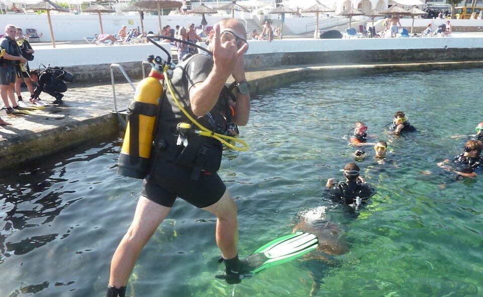 PADI Discover Scuba Diving DSD with S'Algar Diving in Menorca