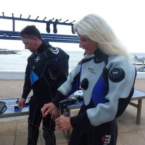 PADI Dry Suit Speciality Diver Course | S'Algar DIving Menorca