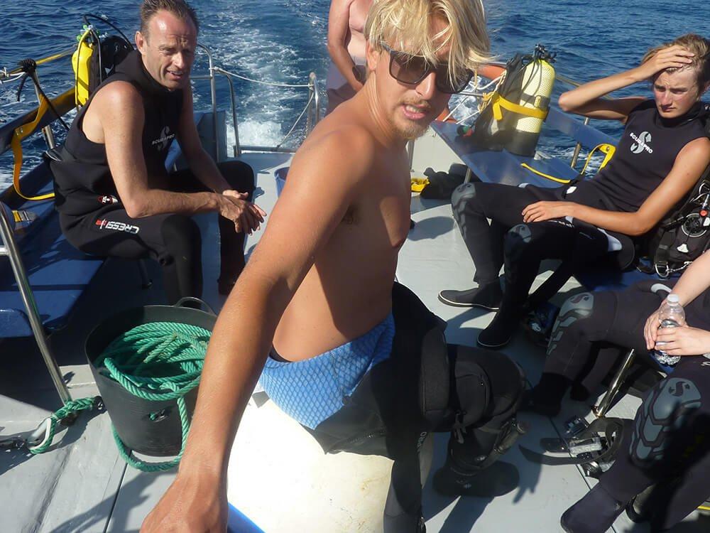 Boat Dives | S'Algar Diving, Menorca