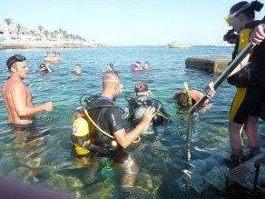 DSD Try Dive   S'Algar Diving, Menorca