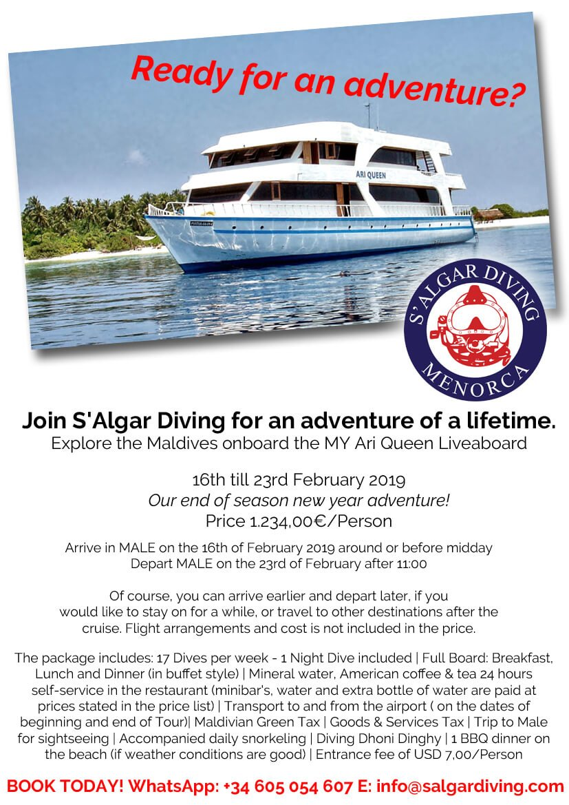 S'Algar Diving Maldives