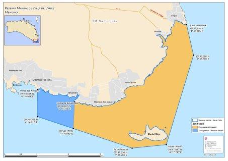 Meeresschutzgebiet Isla del Aire Menorca
