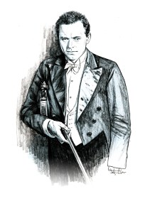 Portrait study of Adolf Busch'
