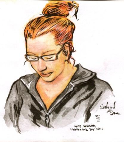 Personal portrait - Ange J Murphy