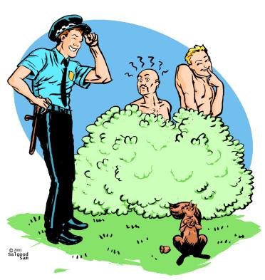 illustration - Outdoor sex