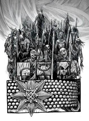 Comics art - Dracula