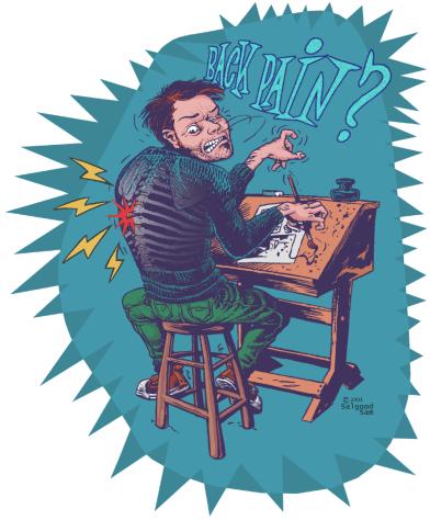 illustration - Bad posture