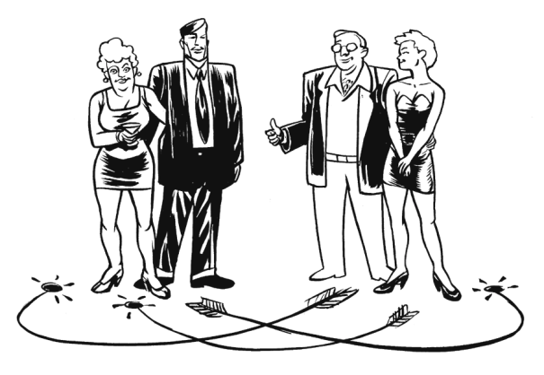 illustration - Swingers