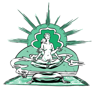 illustration - Tantric sex