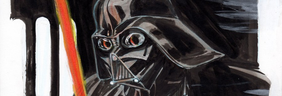 Darth Vader Sketch, my first!