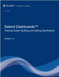 Getting Started: Dashboards v7 Designer