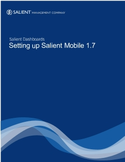 Setting Up Salient Mobile 1.7