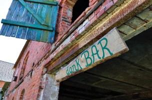 Die Bar während des Hoffestes