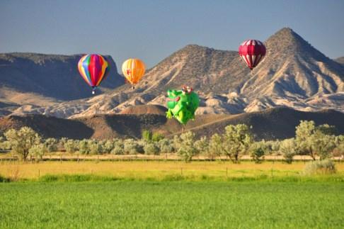 Eyes to the Sky Balloon Fest 2014 Salina, Utah