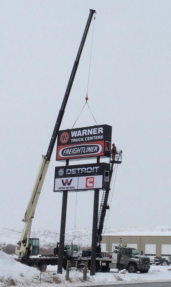 Warner Sign