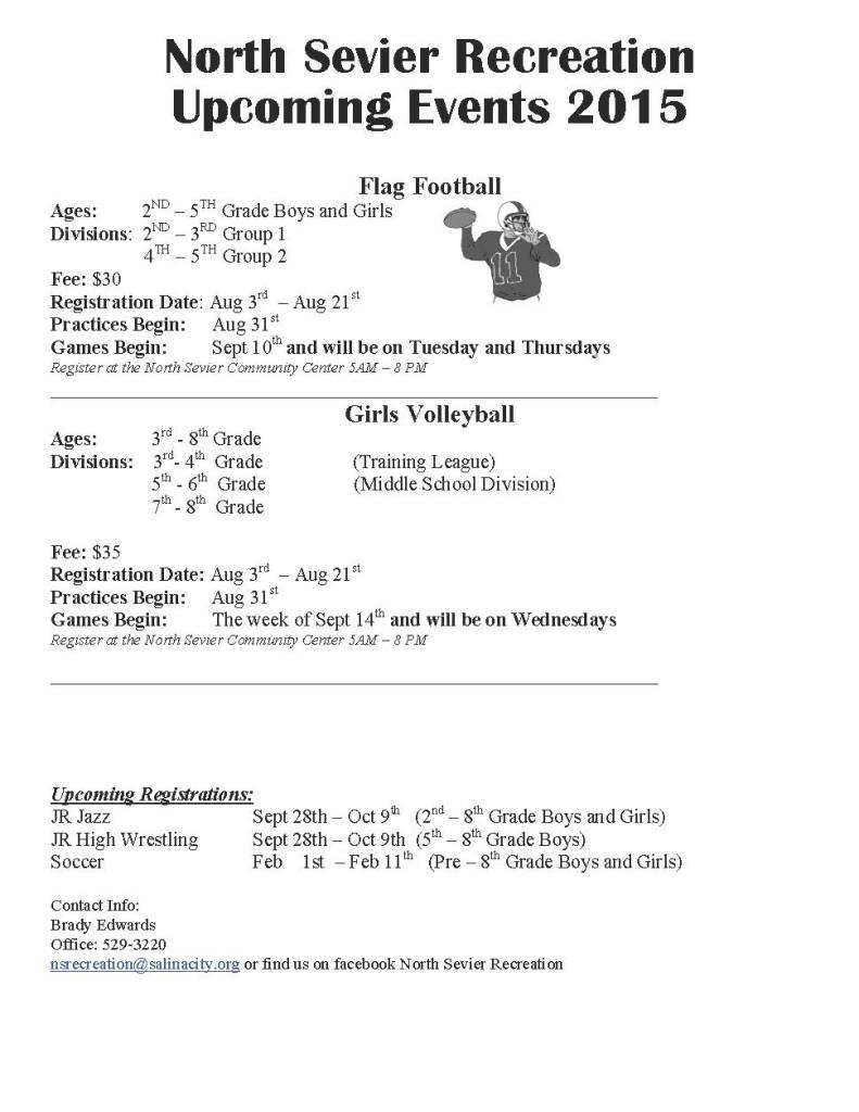 flag football  volleyball 2015