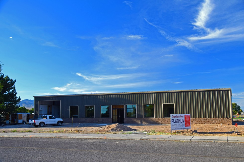 Platinum Power Tumbling Building Nears Completion