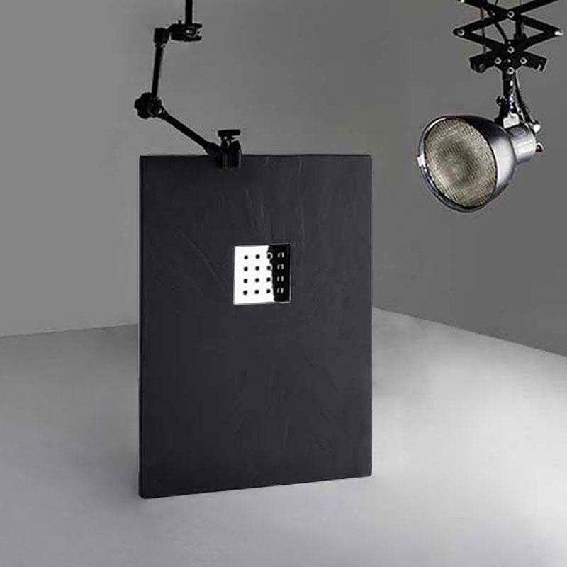 receveur en gel coat pizarra graphite 120 x 80 cm