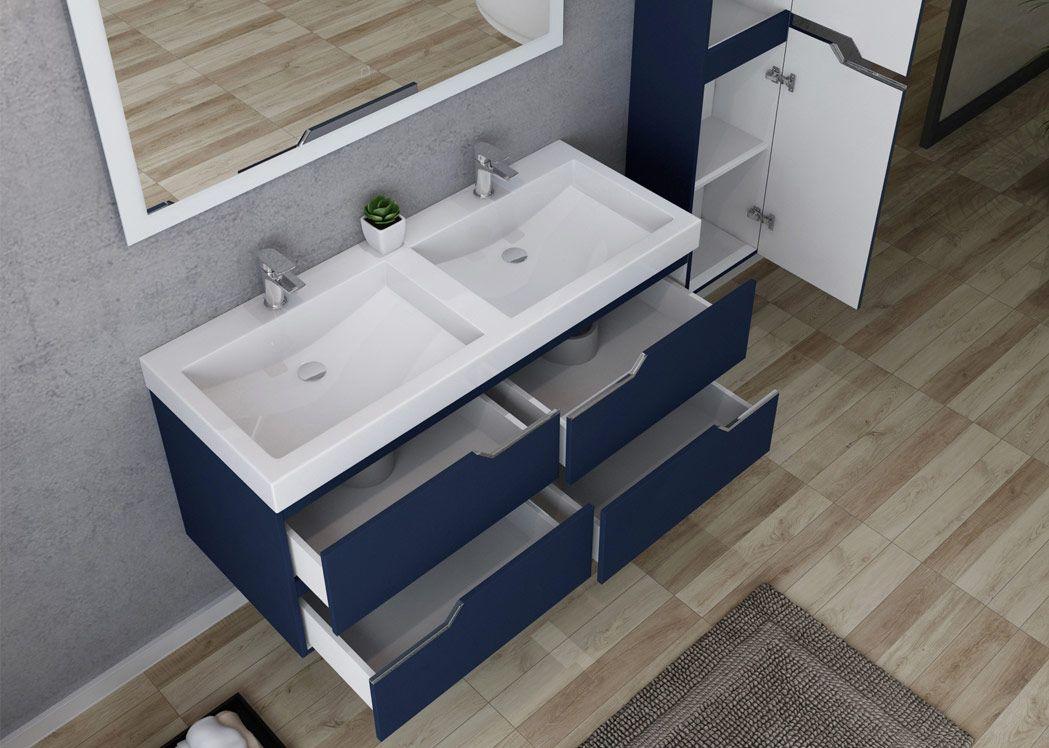 salle de bain double vasque 120 cm