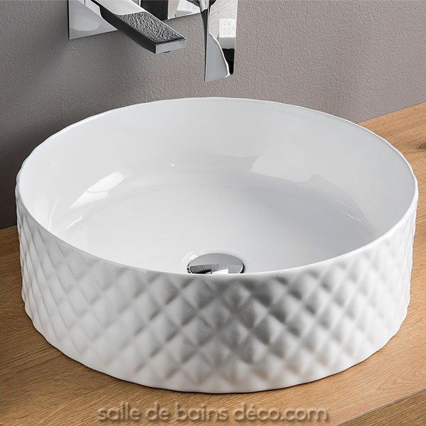 Vasque Ronde A Poser Rombo Salledebainsdeco Com