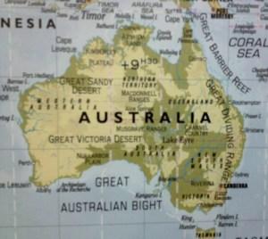 map Aust