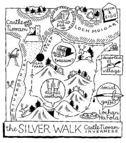 silver walk map