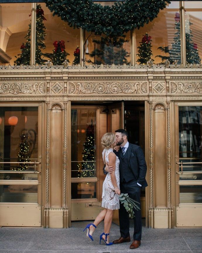 Wrigley Building Wedding Photos