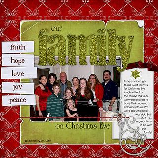 Ourfamilyonchristmaseve