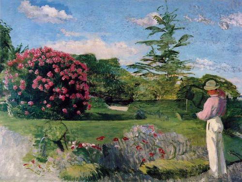 797px-Bazille,_Frédéric_~_Le_Petit_Jardinier_(The_Little_Gardener),_c1866-67_oil_on_canvas_Museum_of_Fine_Arts,_Houston